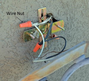 disconnect wires
