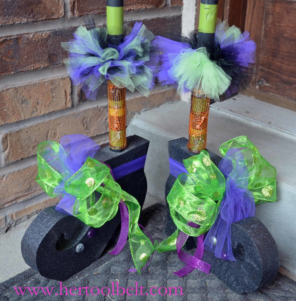 halloween witch shoes - hertoolbelt
