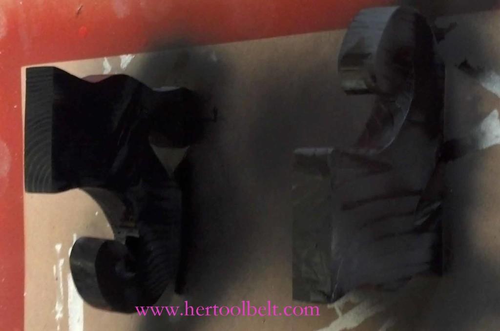 paint witch shoe hertoolbelt