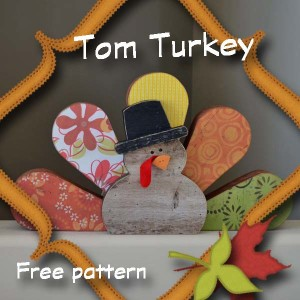 Thanksgiving tom turkey craft hertoolbelt