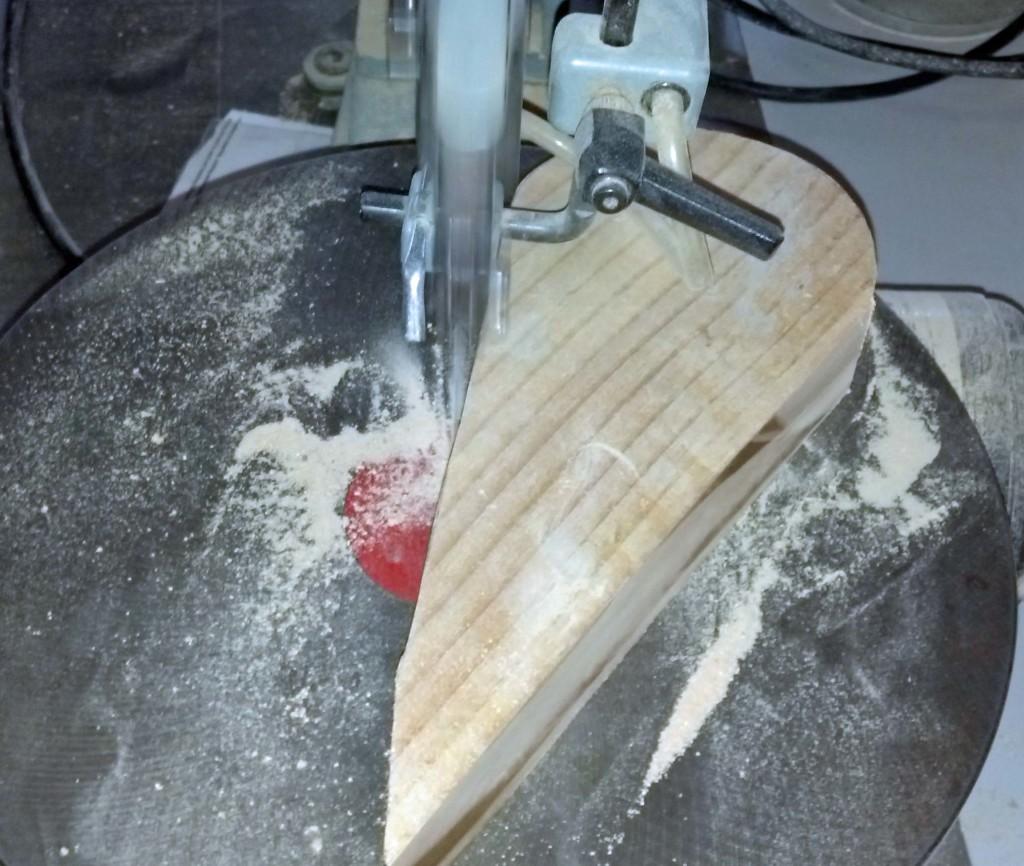 tom turkey: cut wood pieces