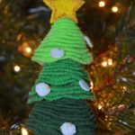 3rd Day of Christmas – Stacked Felt Christmas Tree Ornament
