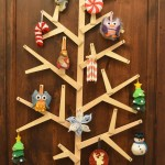 Wooden wall tree – knockoff