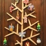 Wooden Wall Tree