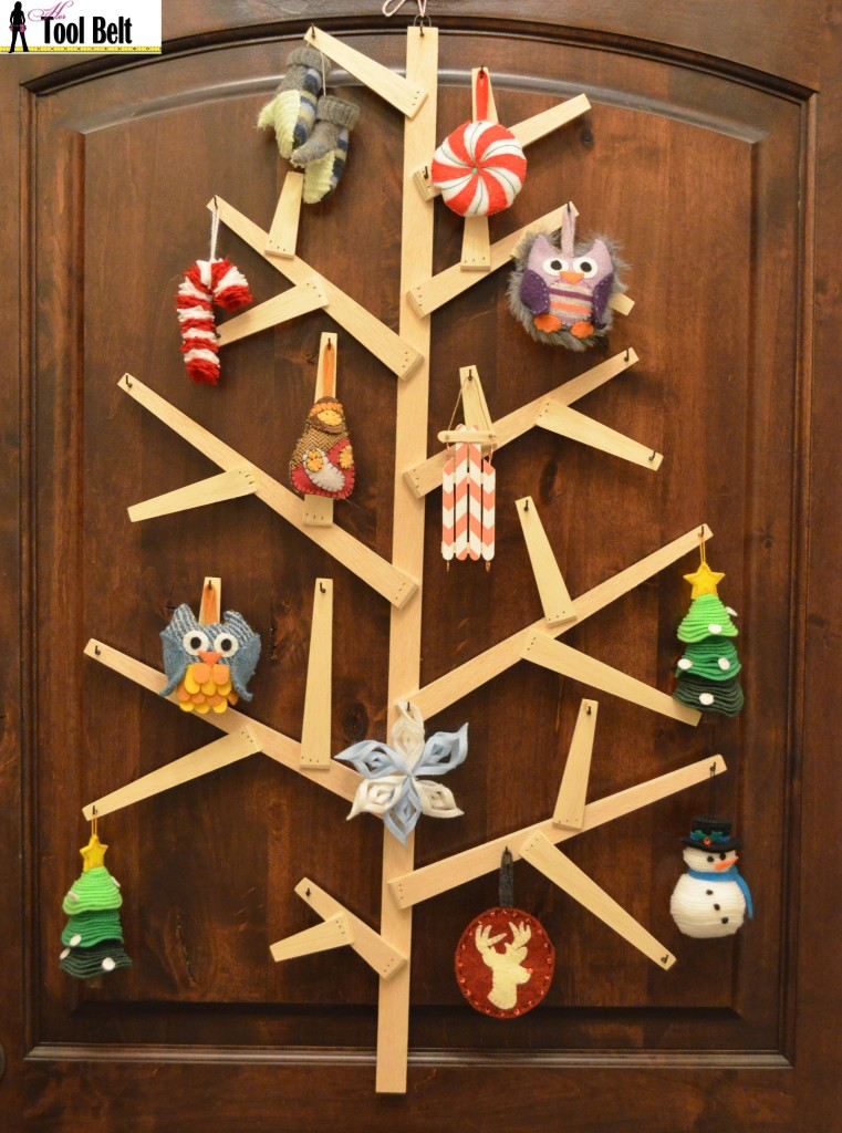 Wooden wall tree west elm recreate