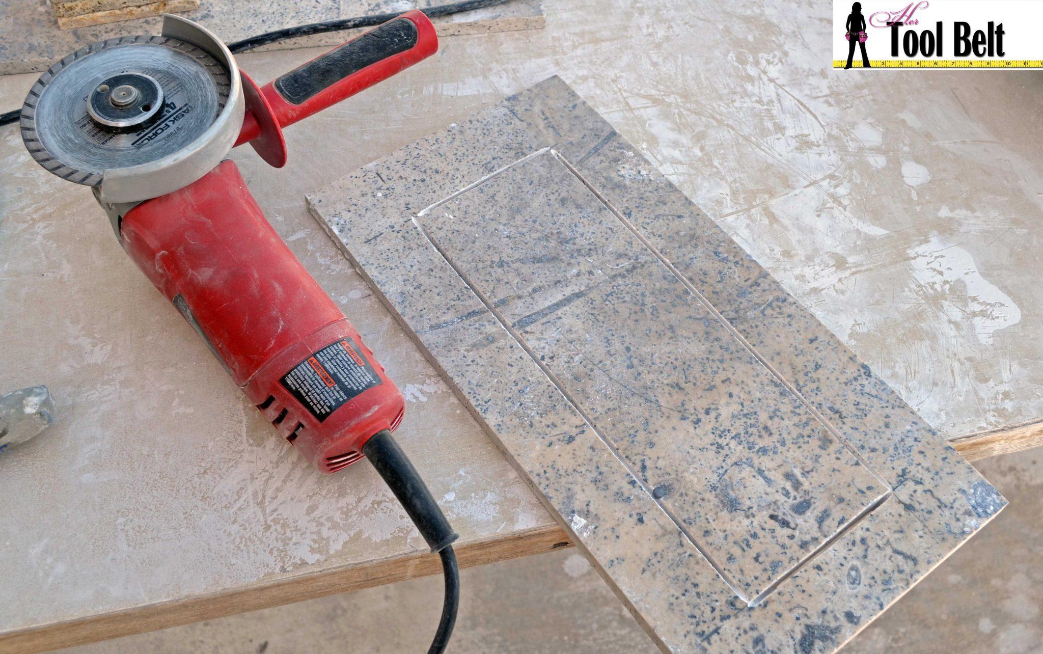 How To Install Wood Tile Barnwood Her Tool Belt