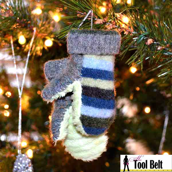 mini mittens ornament