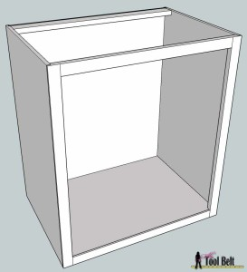 Bathroom cabinet without doors htb