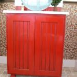 Paprika Vanity Cabinet