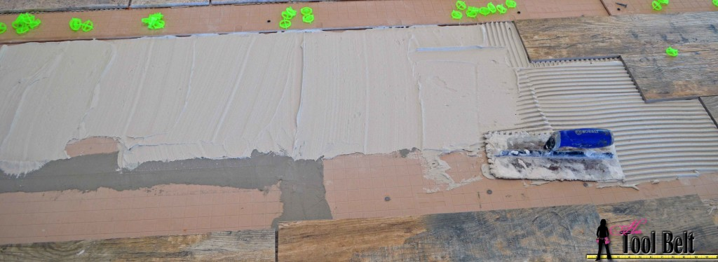 barnwood tile lay tiles