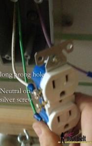 attach neutral wire