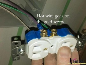 hot on gold screw
