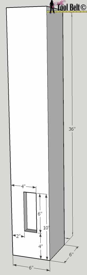 barnwood bed short post