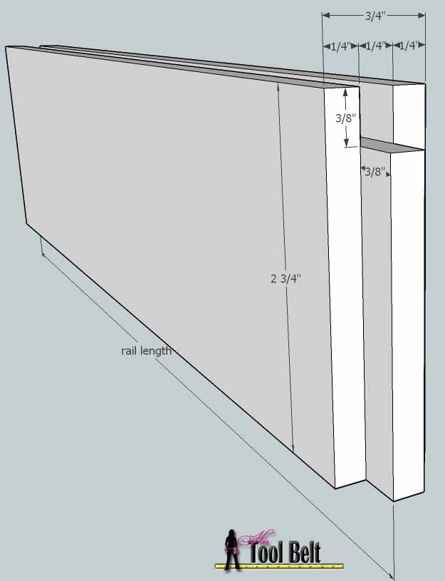door rail length 2
