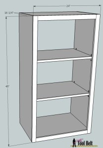 1media center shelf overall dimensions
