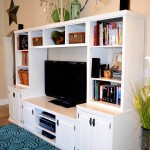 Entertainment center (PB media center plan) cabinets