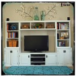 Entertainment Center (PB media center plan) – Bookshelves