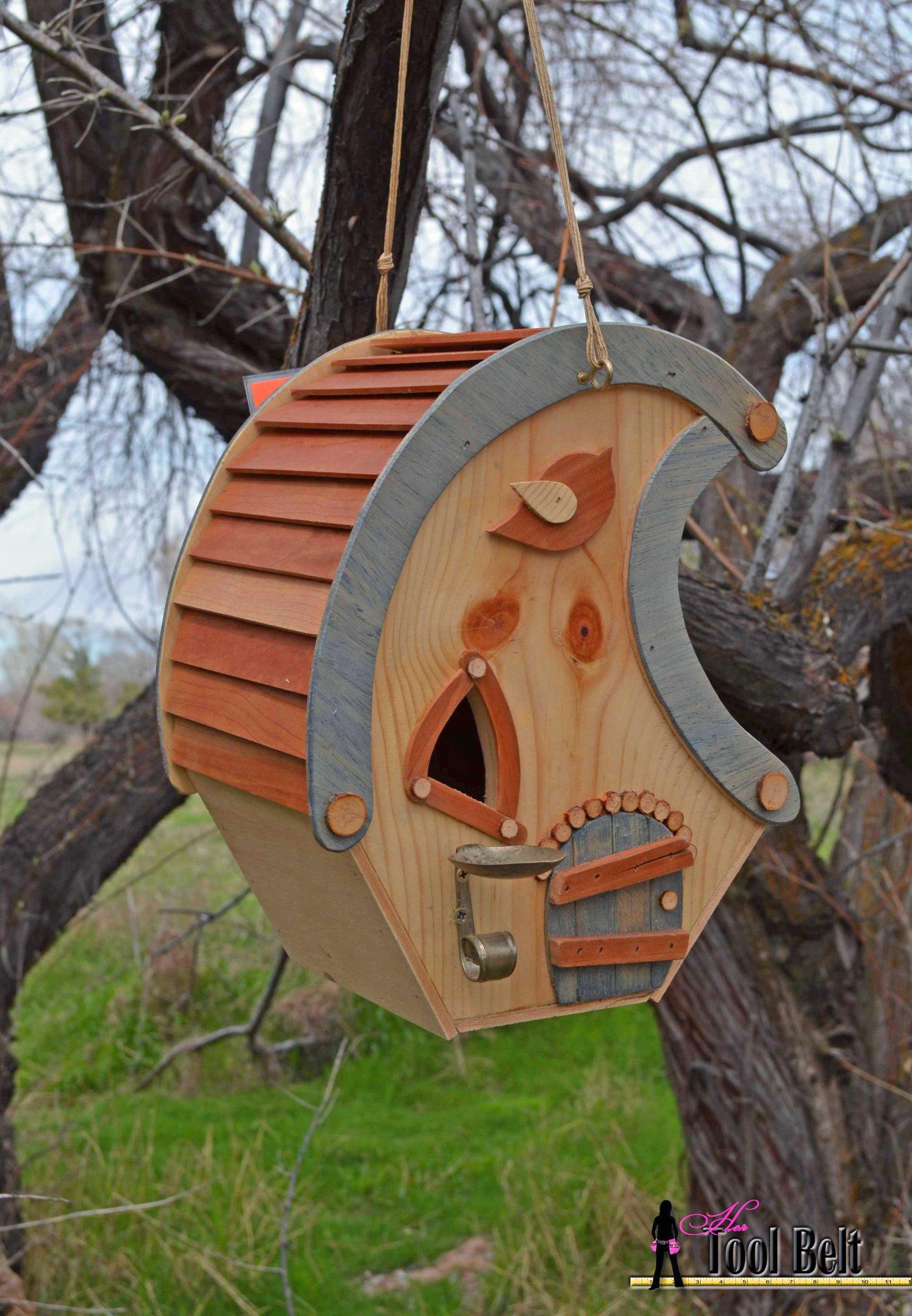 whimsical birdhouse pattern hertoolbelt. Black Bedroom Furniture Sets. Home Design Ideas