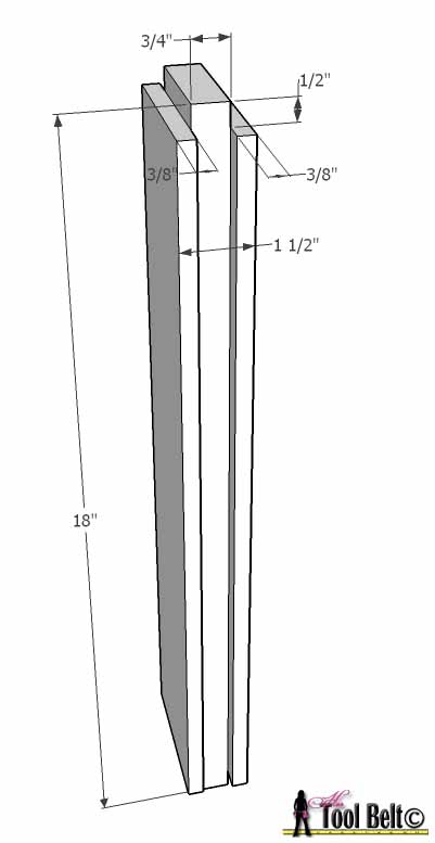 chevron bed footboard divider