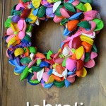 Celebration Balloon Wreath