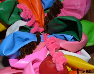 balloon wreath curly cues