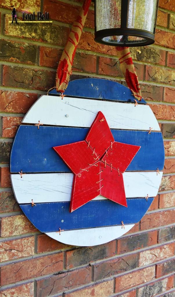 memorial star wide view