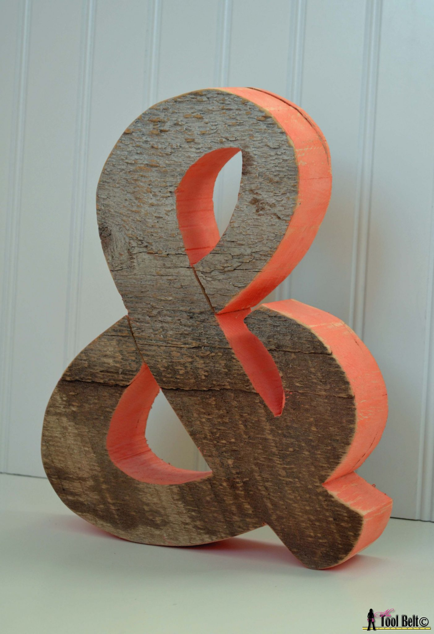 Rustic Ampersand 'and' symbol - Her Tool Belt