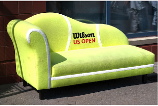 tennis ball couch