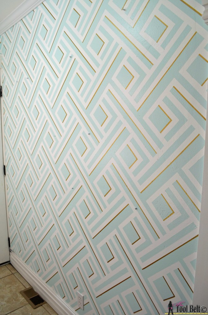 Geometric wall overall