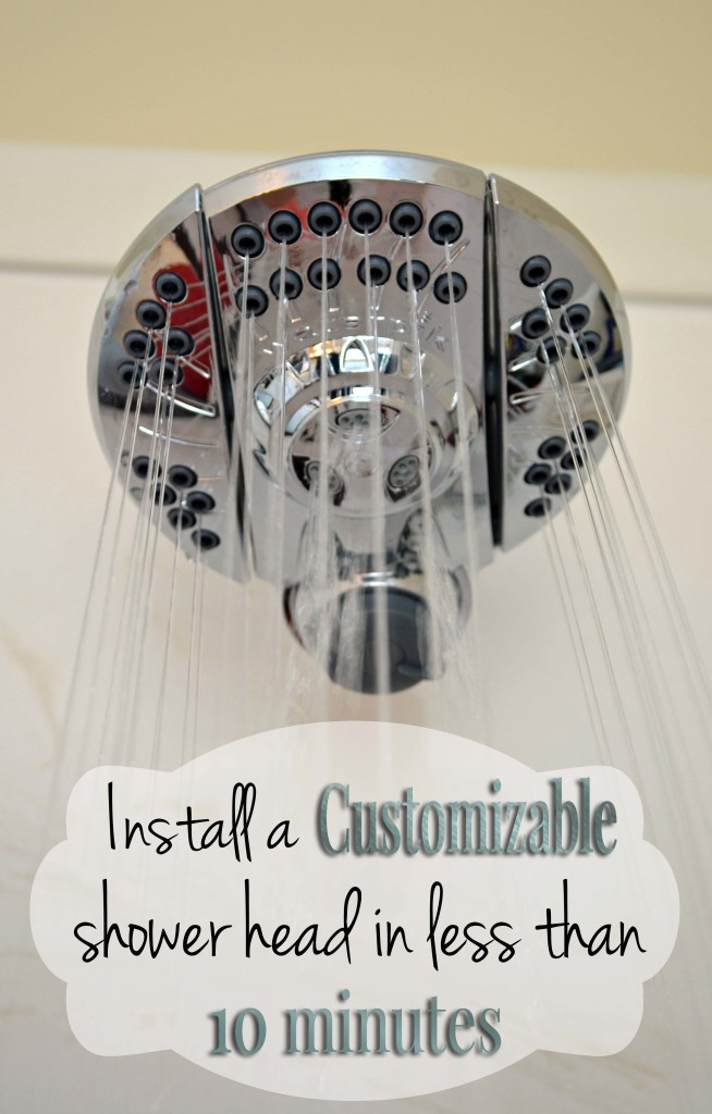 Install a customizable shower head in less than 10 min on hertoolbelt.com