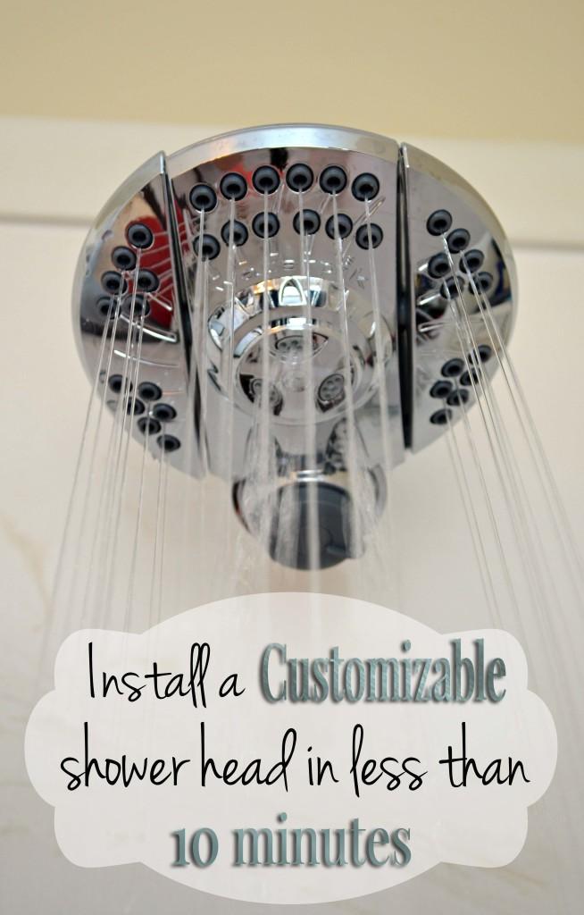 Install a customizable shower head in less than 10 min on hertoolbelt.com