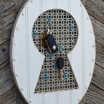Vintage Keyhole - key holder on #hertoolbelt