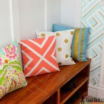 Painted Pillows and Fabric
