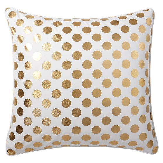 gold pillow