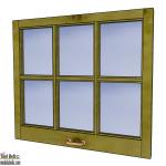 6 Pane Window Frame