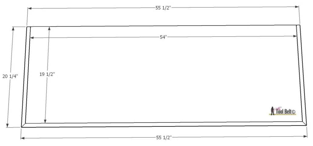 7 Drawer dresser -plain top