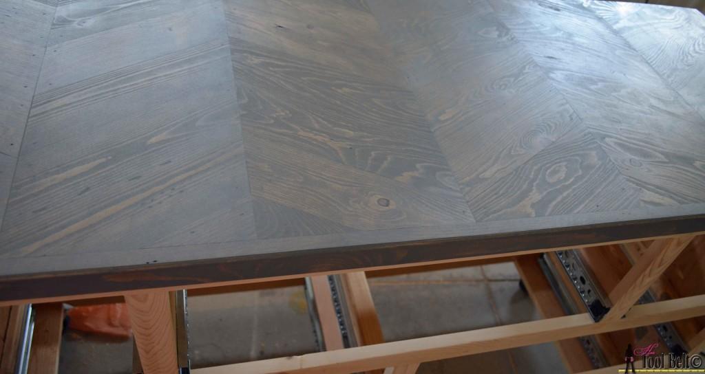 7 drawer dresser-1coat on top