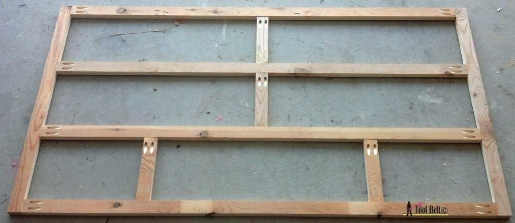 7 drawer dresser-face frame back