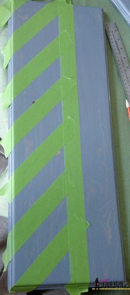 7 drawer dresser stripes