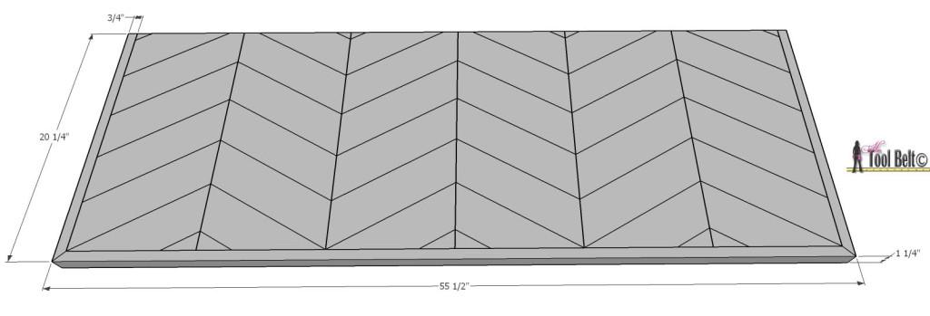 7 drawer dresser-top dimensions