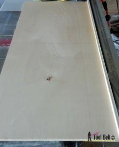 7 drawer dresser-top straight edge