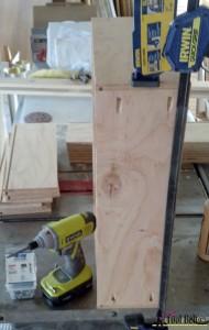 7 drawer dresser-use pocket holes to assemble drawers
