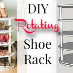 Rotating Shoe Rack