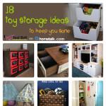 18 Toy Storage Ideas