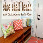 Shoe Shelf Bench