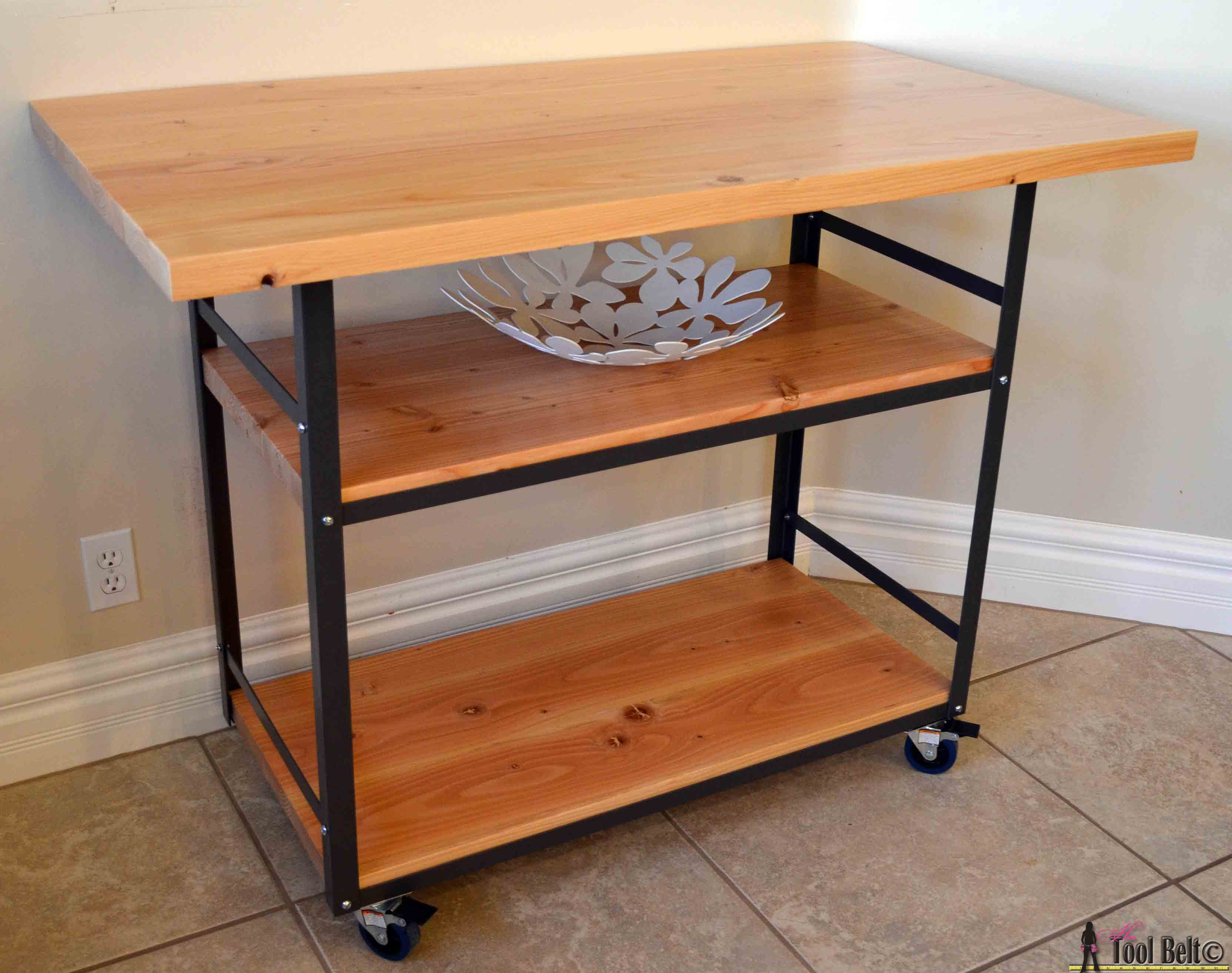 Kitchen Island Cheap Rolling Island Counter Table Her Tool Belt
