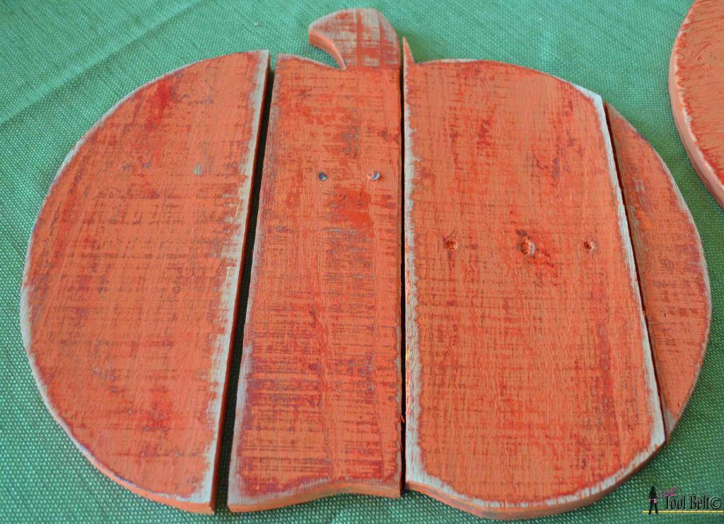 rustic pallet pumpkin sand paint