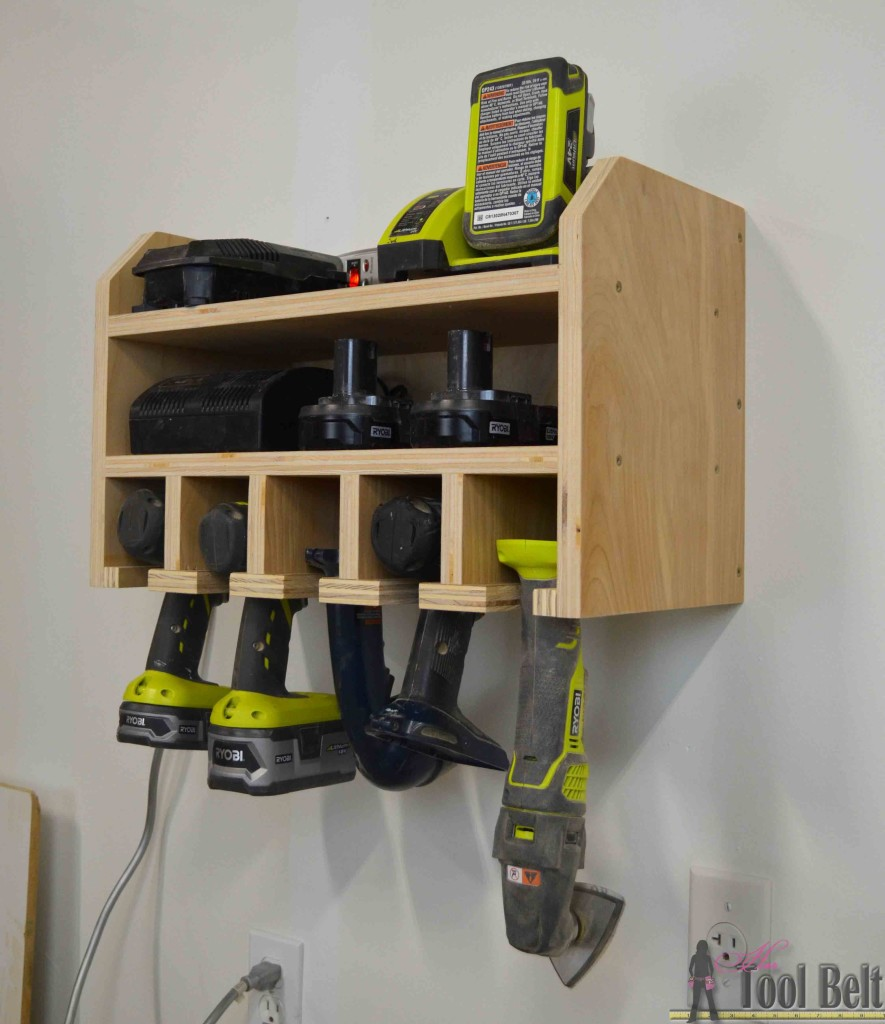 12 brilliant tool organization ideas her tool belt cordless drill charge no drawer solutioingenieria Images