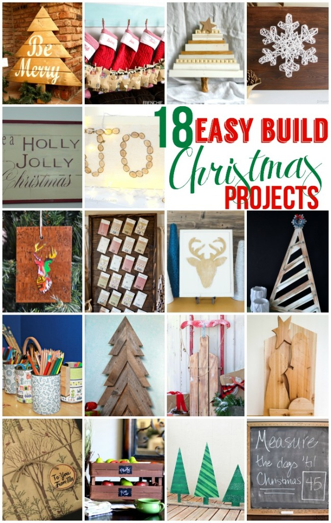18 easy build Christmas projects