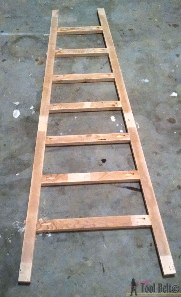 ladder advent calendar glue ladder - Her Tool Belt